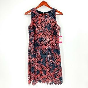 nwt   Vince Camuto Floral Sleeveless Shift Dress